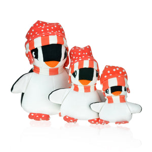 WINTER COLLECTION Penguin Nina Toy (Red)