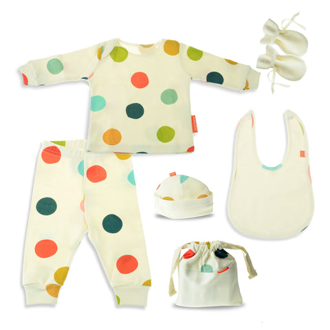 Happy Dots Unisex Gift Set