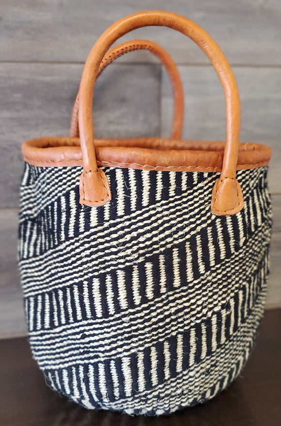Kenyan Handwoven Tote - Medium