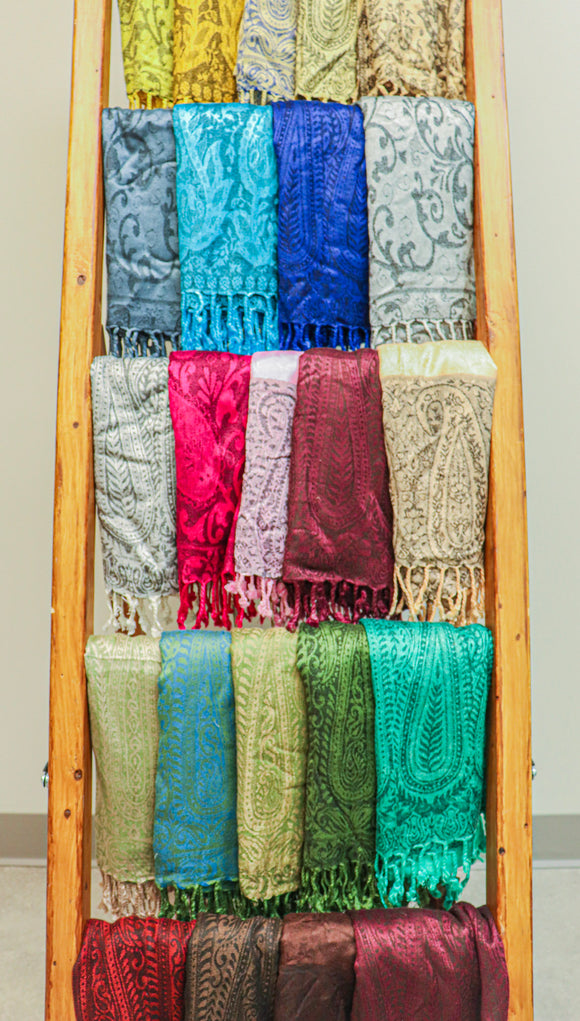 Indian Wrap-Around Scarves