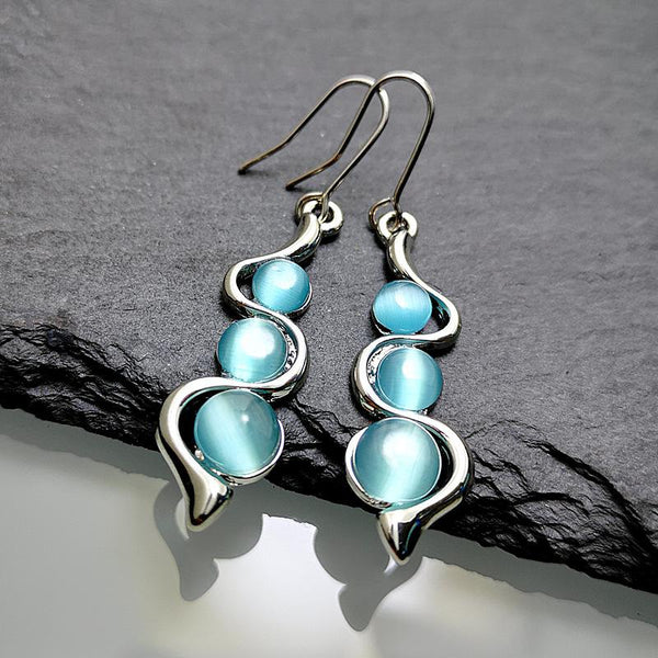 Bohemian Creative Curve Wave Earrings