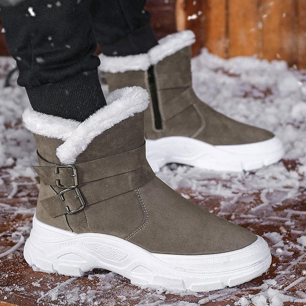 Thick-soled Non-slip Snow Boots