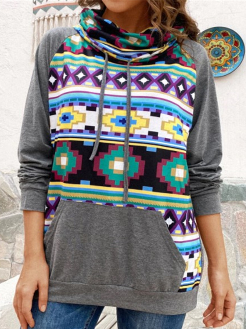 Casual Printed Sweater