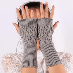 Hollow Long Gloves