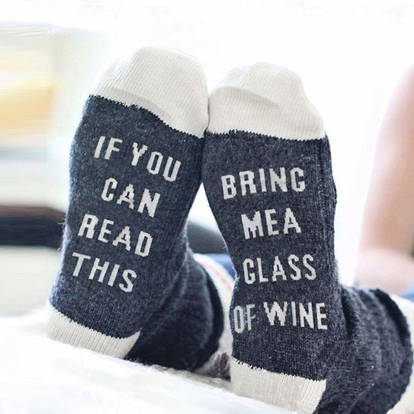 IF YOU CAN BRING ME A GLASS OF WINE