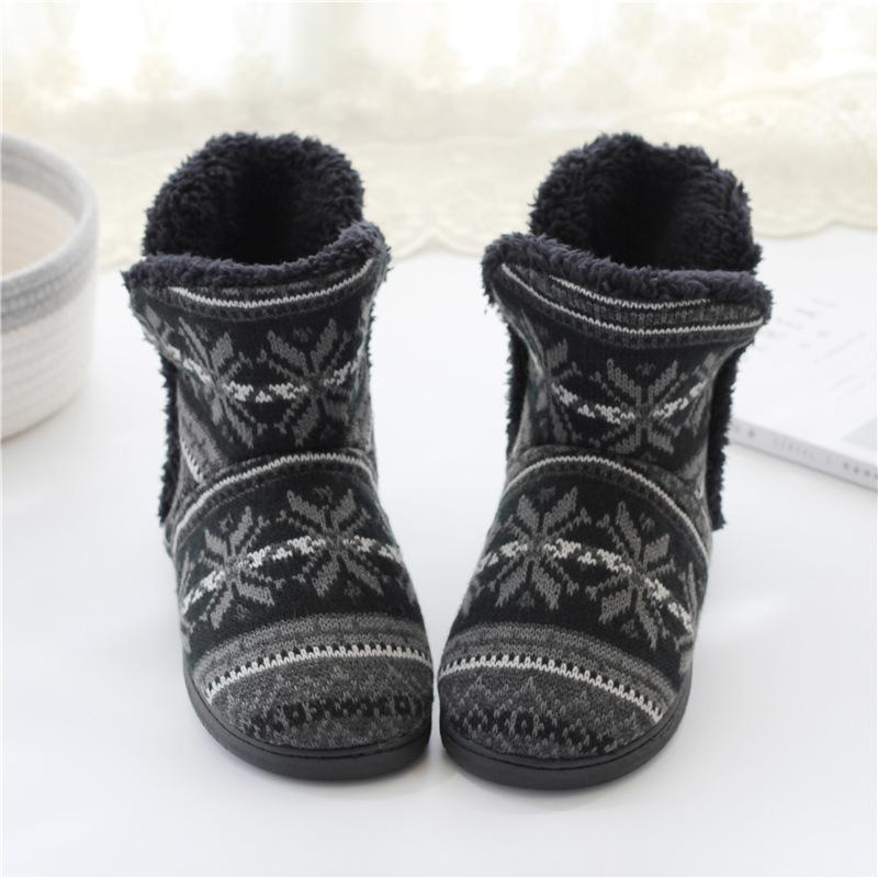 Thick-soled Cotton Boots