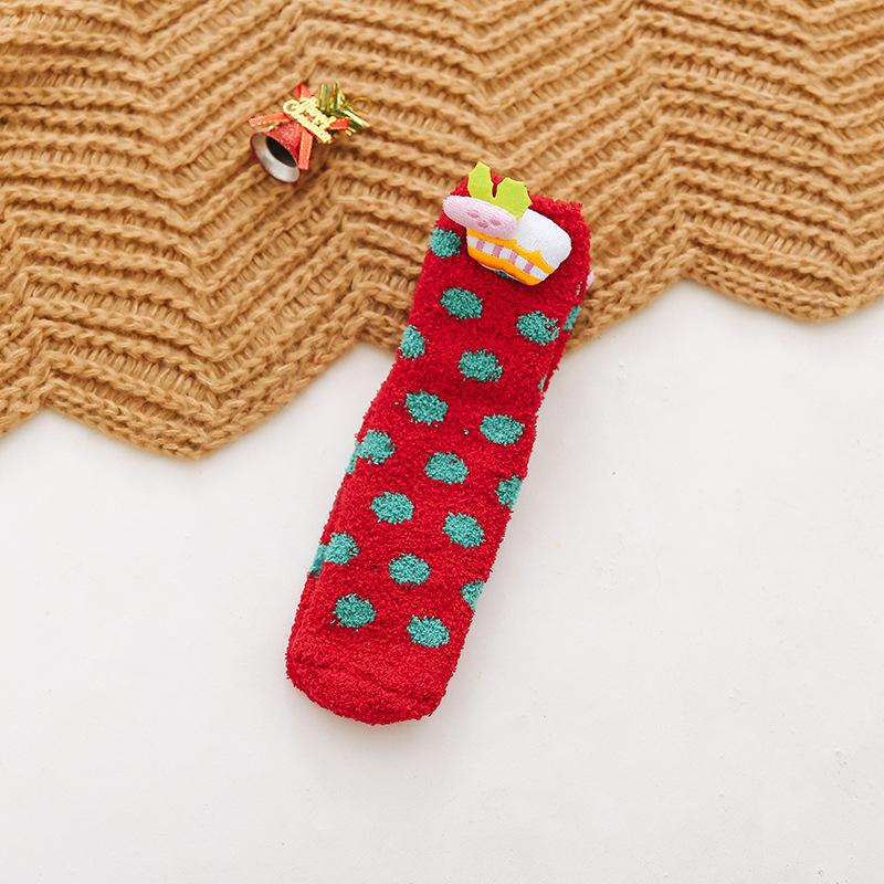 Cartoon Christmas Socks