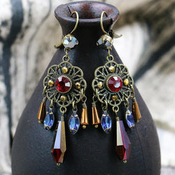Vintage Court Tassel Earrings