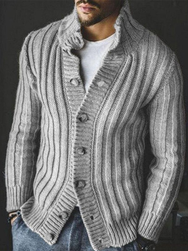 Casual Single-breasted Sweater