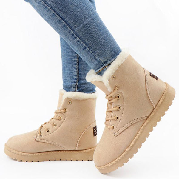 Casual Short Boots Women Winter Snow Boots