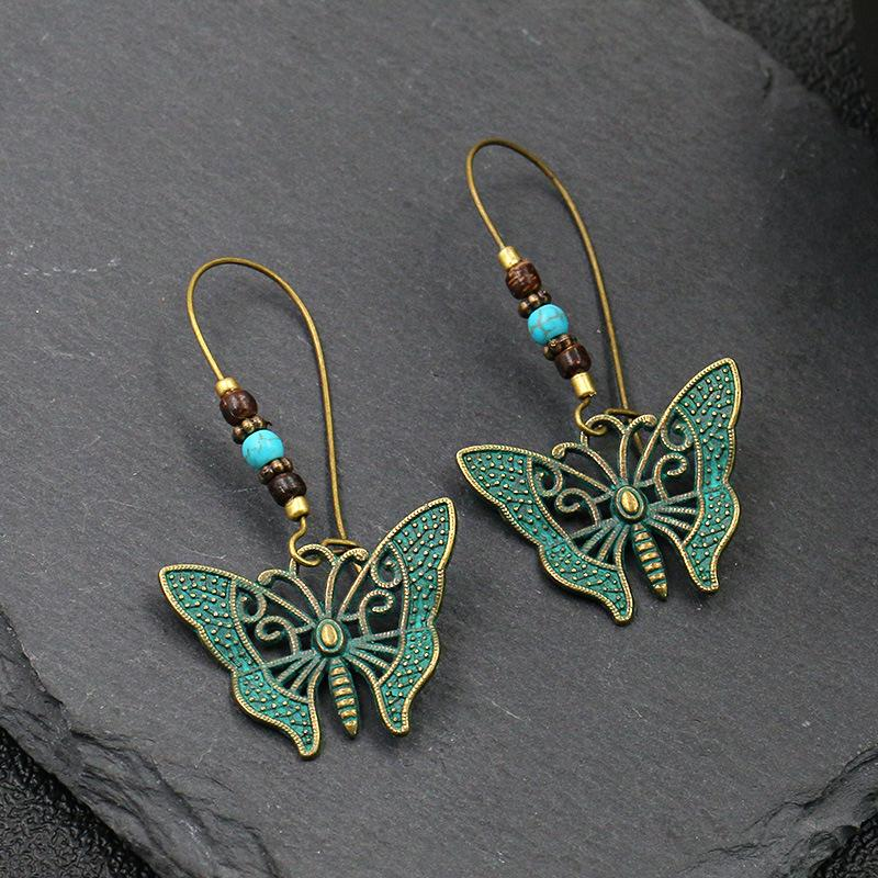 Flower Alloy Earrings