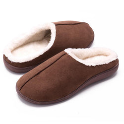 Non-slip Slippers for Men and Women Indoor and Outdoor Warm Cotton Slippers
