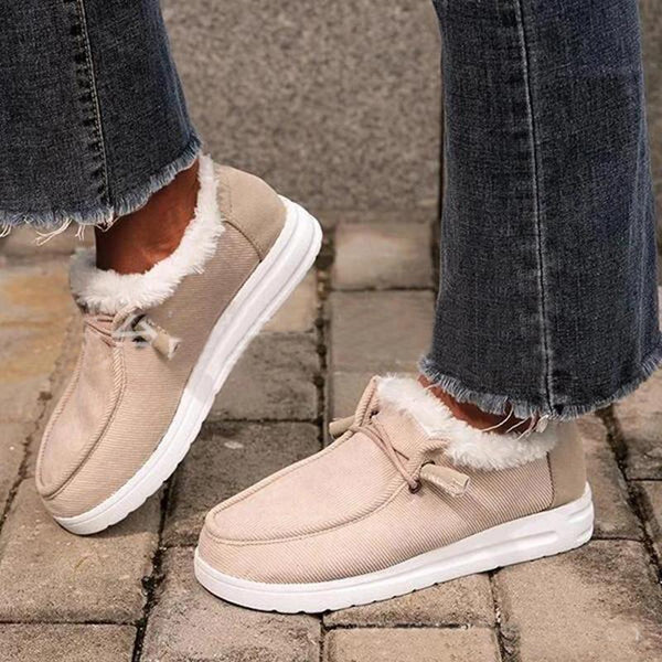 Women's Cotton Loafers