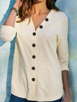 Women's Plus Size Cardigan Casual Long-sleeved T-shirt