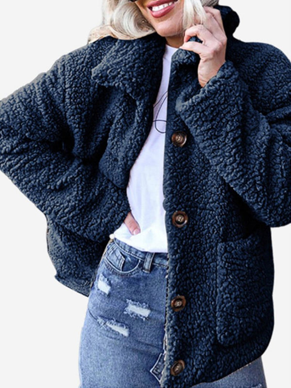 Women's Fall and Winter Fleece Casual Jacket