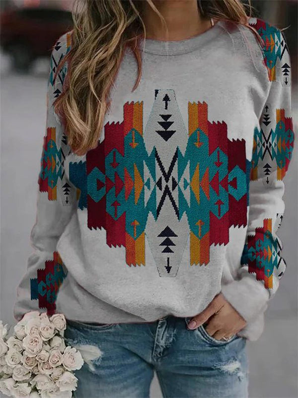 Family Style Printed Sweater