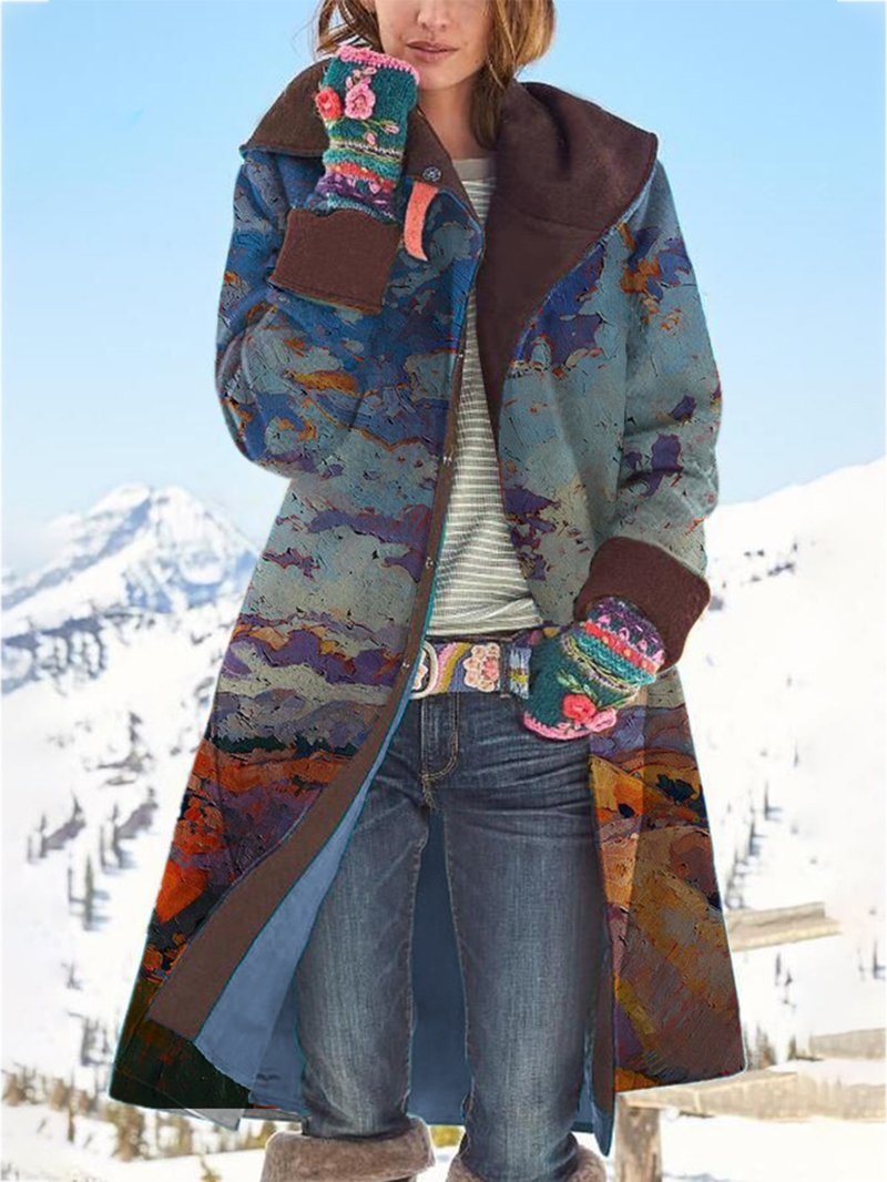 Colorful Printed Nizi Jacket