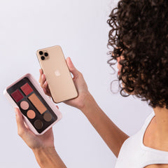 Billion Dollar Beauty box compared to iPhone size