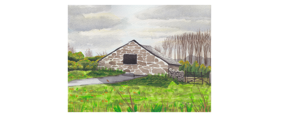 St.Fagans Farmhouse In A Field