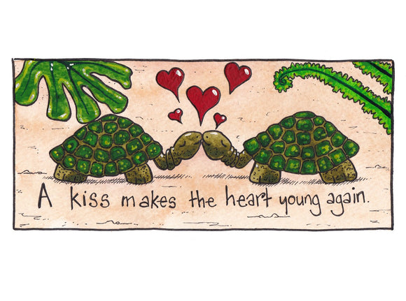 A Kiss Makes The Heart Young Again