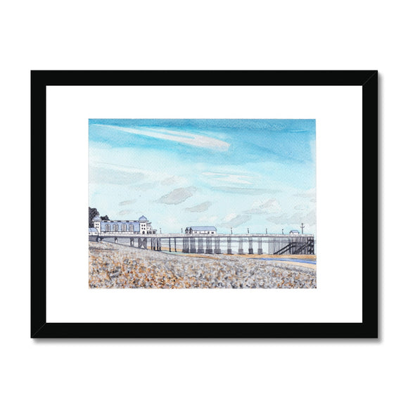Penarth Pier Framed Print