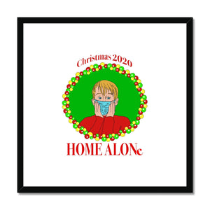 Christmas 2020 Home Alone Framed Print