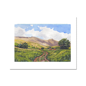 Pen Y Fan With Cows Fine Art Print