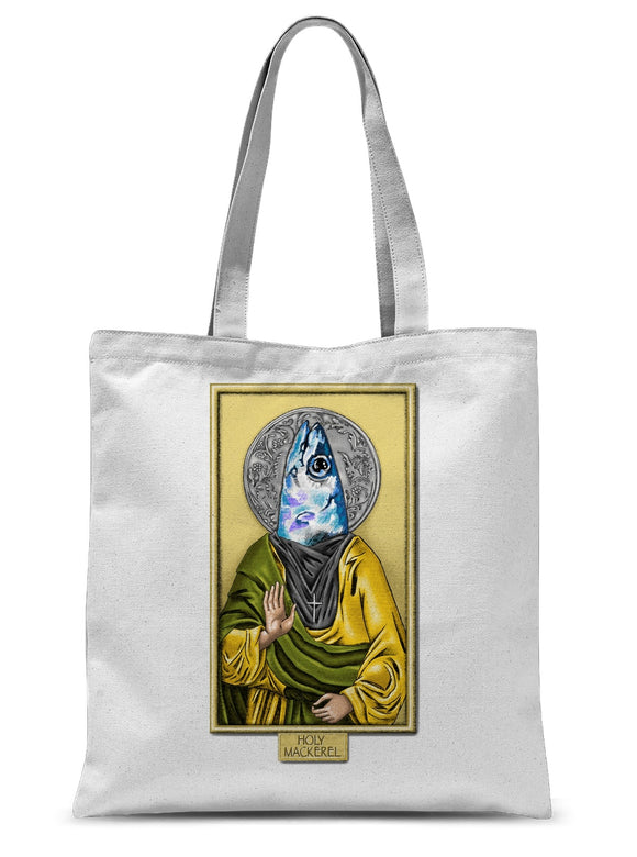 Holy Mackerel Sublimation Tote Bag