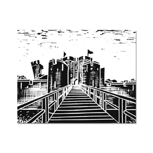 Caerphilly Castle Fine Art Print