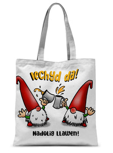 Iechyd da! Sublimation Tote Bag