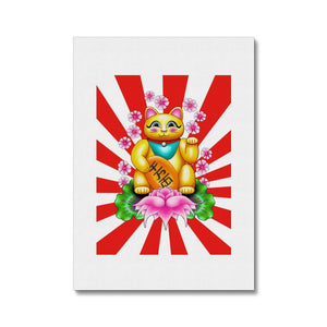 Lucky Cat Canvas