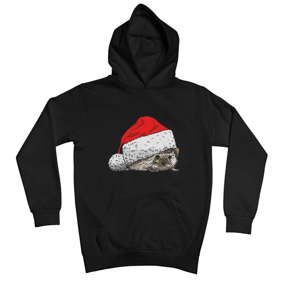 Christmas Hedgehog Kids Retail Hoodie