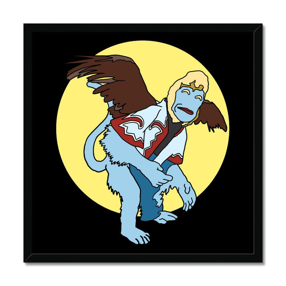 Flying Monkey Framed Print