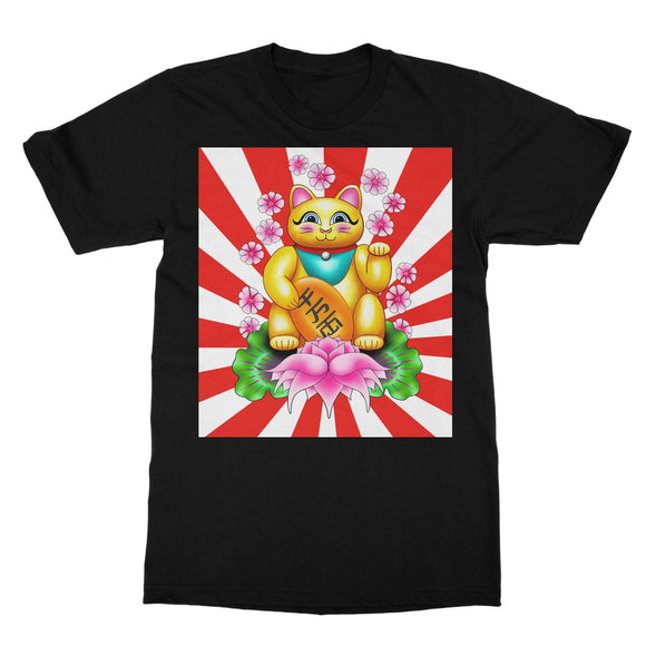 Lucky Cat Softstyle T-Shirt