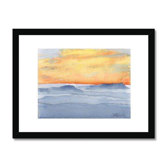 Pen Y Fan At Sunrise Framed Print