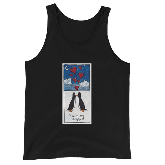 You're My Penguin Unisex Jersey Tank Top