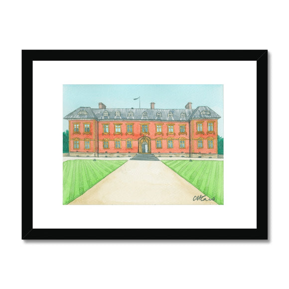 Tredegar House Rear Framed Print