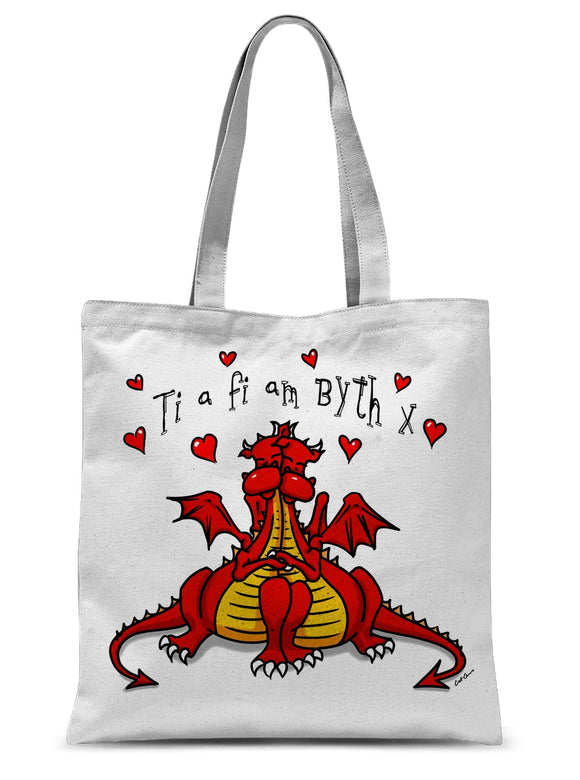 Ti a fi am byth Sublimation Tote Bag