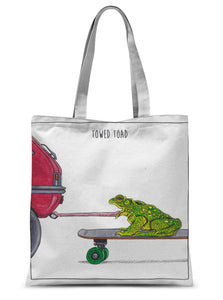 Towed Toad Sublimation Tote Bag