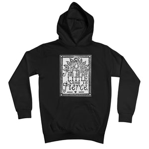 And Though She Be But Little She Is Fierce Kids Retail Hoodie