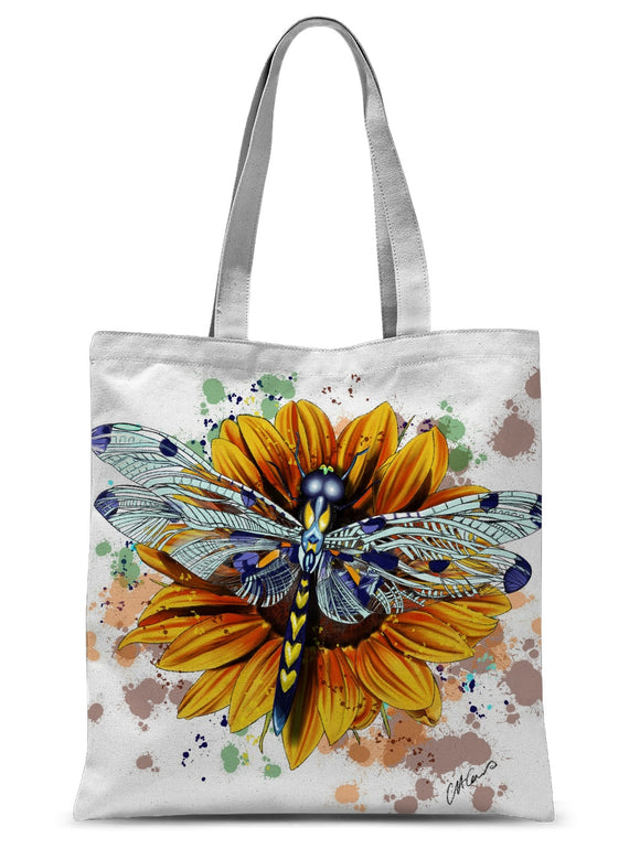 Dragonfly Sublimation Tote Bag