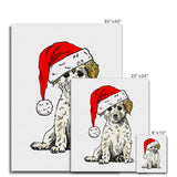 Christmas Doggy Canvas