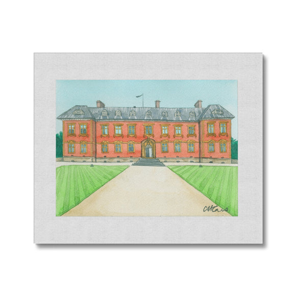 Tredegar House Rear Canvas
