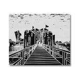 Caerphilly Castle Canvas