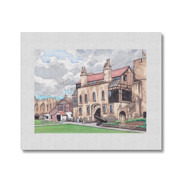 Caldicot Castle Canvas