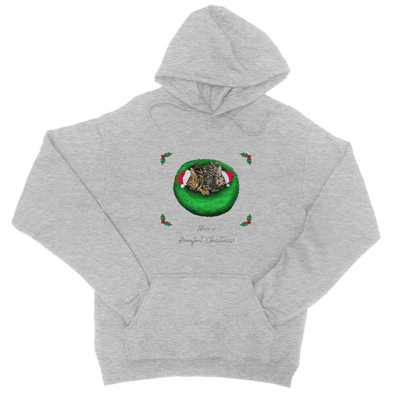 Have A Purrrfect Christmas College Hoodie
