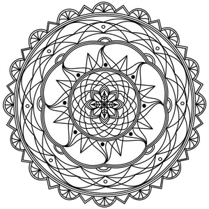 Mandala Colouring Sheet 5 - Digital Download
