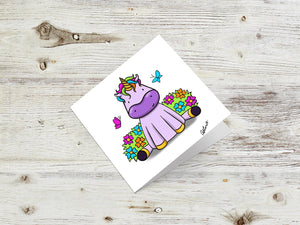 Unicorn Greetings Cards
