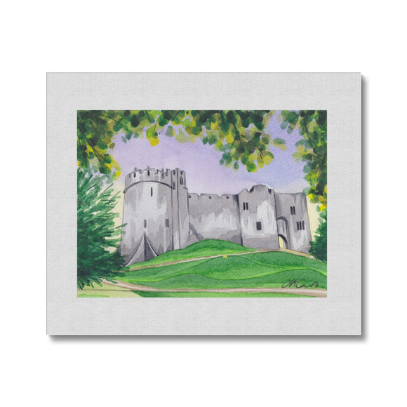 Chepstow Castle Canvas