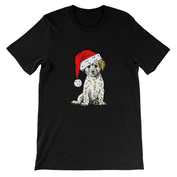 Christmas Doggy Unisex Short Sleeve T-Shirt